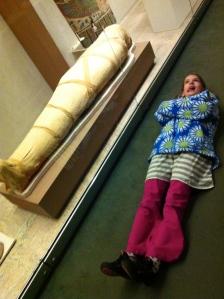 Look Mummy, I'm a mummy!